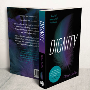 Front cover of Dignity - a utopian trans speculative fiction novel with trans, queer, sex worker and nonbinary characters